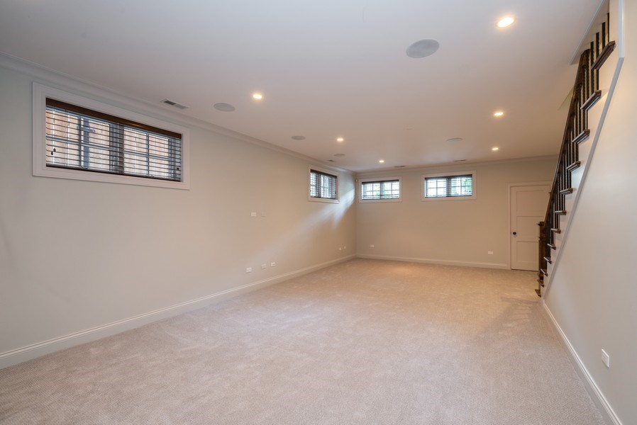 Real Estate Photography - 3453 N Seeley, Chicago, IL, 60618 - Basement