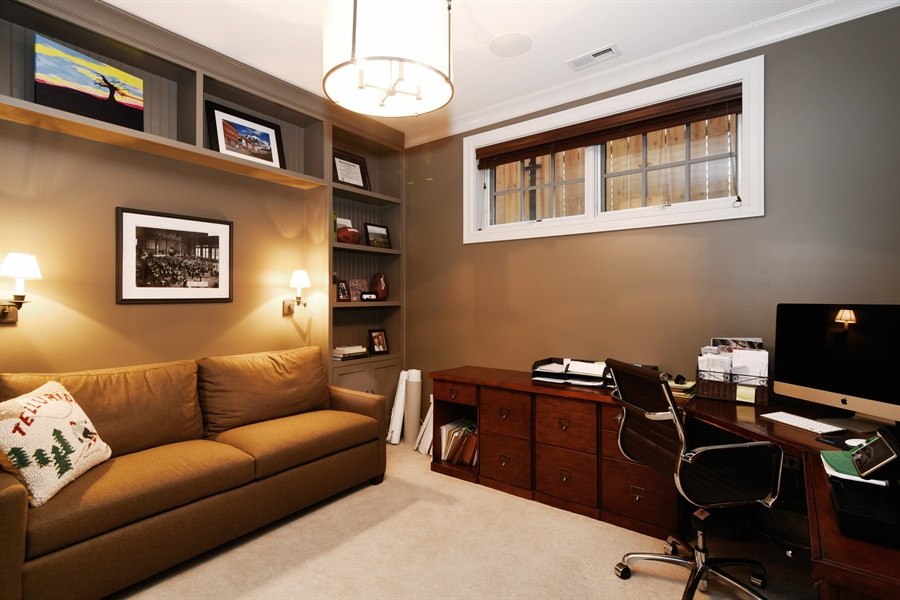 Real Estate Photography - 3453 N Seeley, Chicago, IL, 60618 - Office