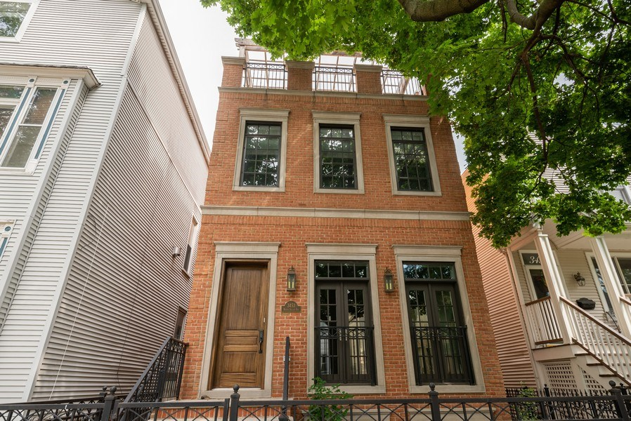 Real Estate Photography - 3453 N Seeley, Chicago, IL, 60618 - Front View