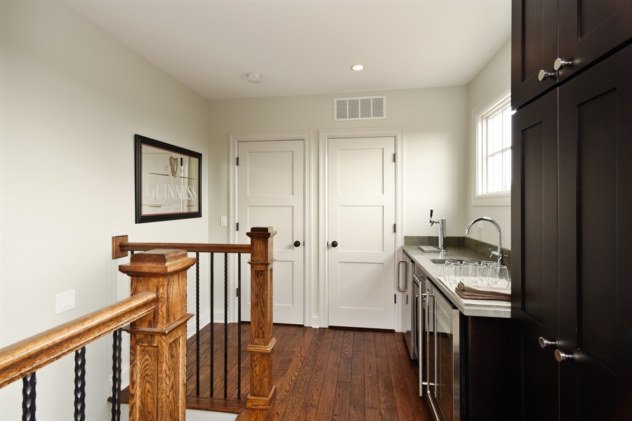 Real Estate Photography - 3453 N Seeley, Chicago, IL, 60618 - Bar