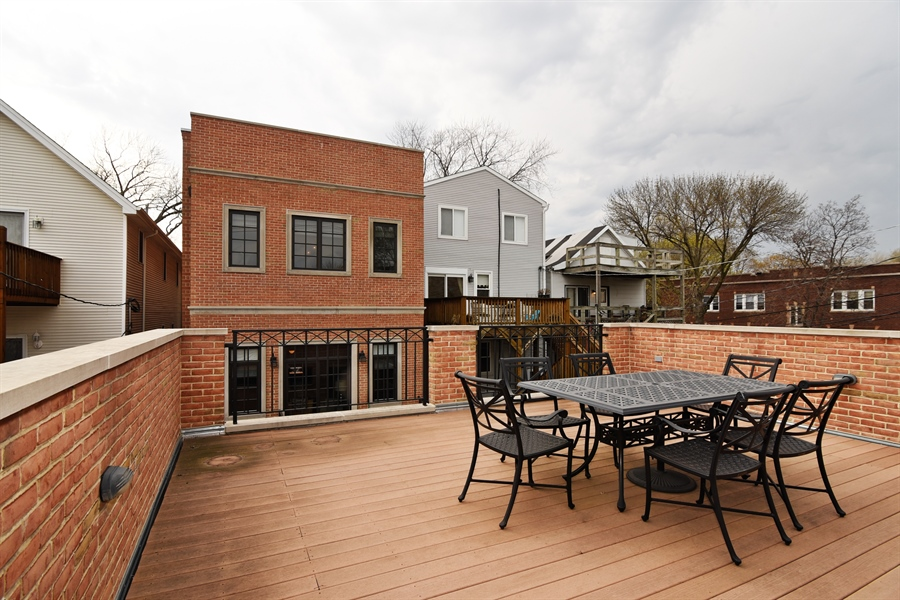 Real Estate Photography - 3453 N Seeley, Chicago, IL, 60618 - Patio