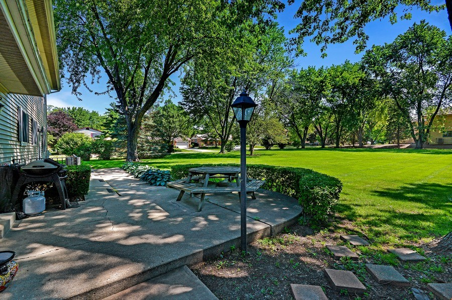Real Estate Photography - 5S351 Columbia St, Naperville, IL, 60563 - Back Yard