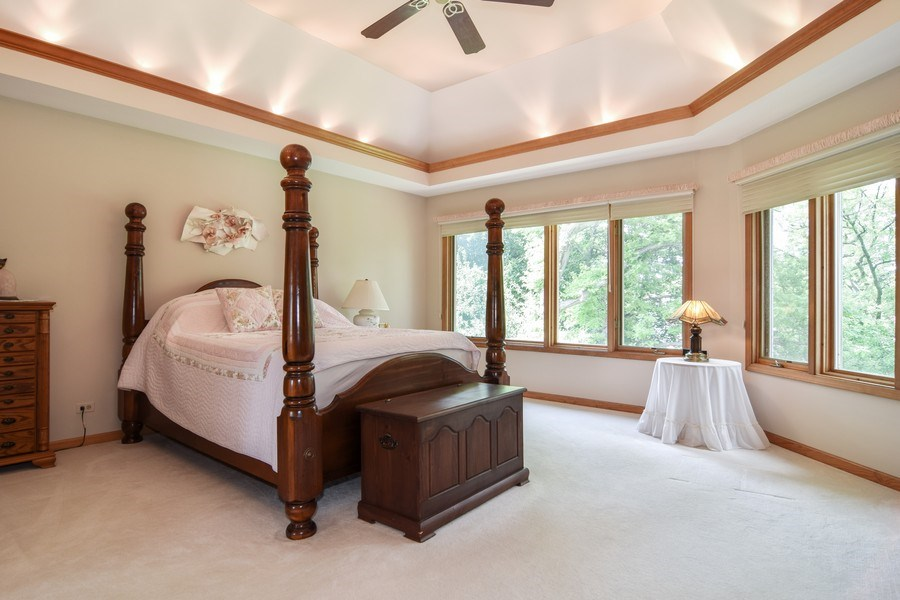 Real Estate Photography - 1581 Far Hills Drive, Bartlett, IL, 60103 - Master Bedroom