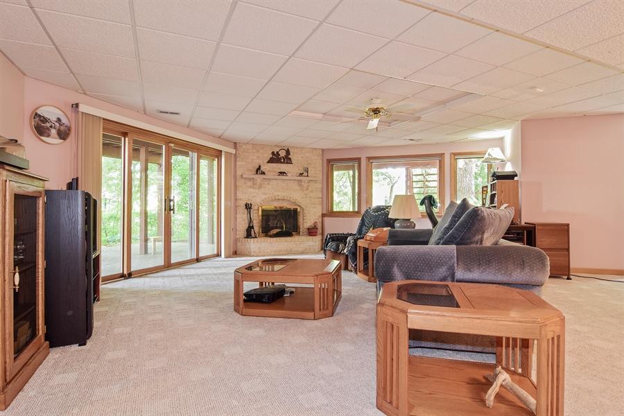 Real Estate Photography - 1581 Far Hills Drive, Bartlett, IL, 60103 - Basement Rec Room