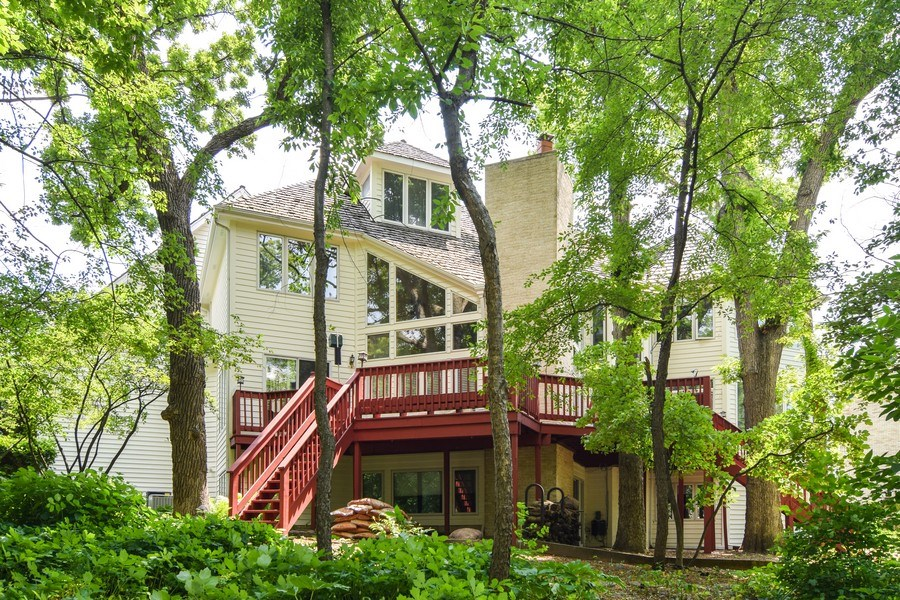 Real Estate Photography - 1581 Far Hills Dr, Bartlett, IL, 60103 - Rear View