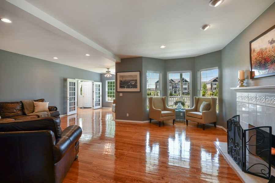 Real Estate Photography - 26W018 Bauer Rd, Naperville, IL, 60563 - Living Room