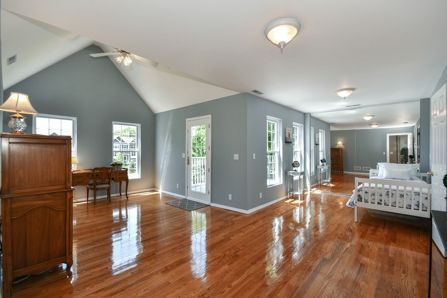 Real Estate Photography - 26W018 Bauer Rd, Naperville, IL, 60563 - 2nd BR opens to the porch