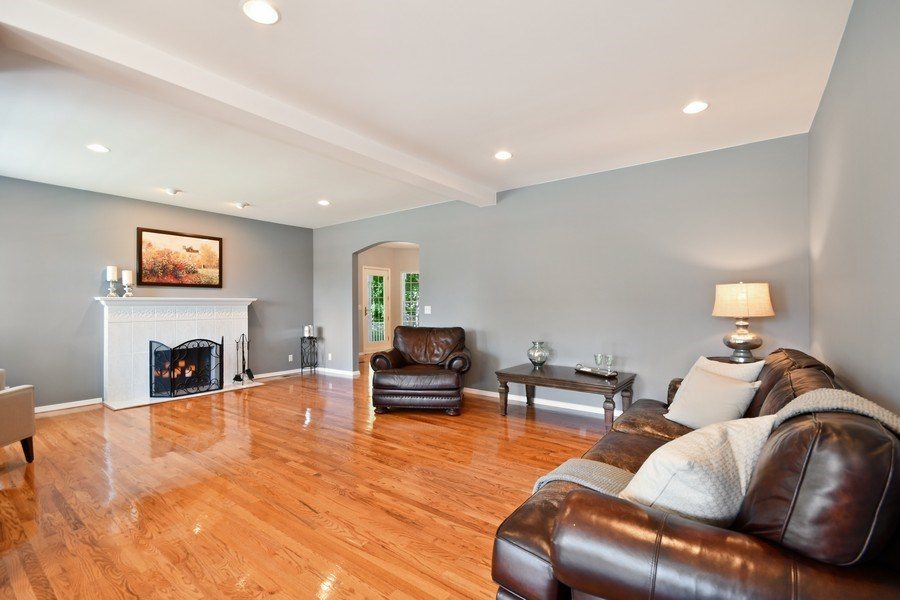 Real Estate Photography - 26W018 Bauer Rd, Naperville, IL, 60563 - Gleaming hardwood floors throughut