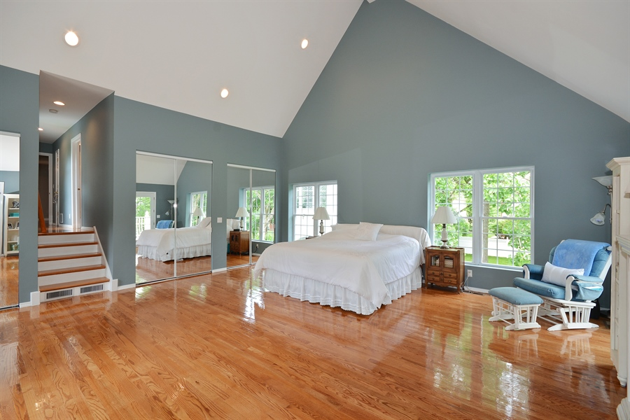 Real Estate Photography - 26W018 Bauer Rd, Naperville, IL, 60563 - Master Bedroom