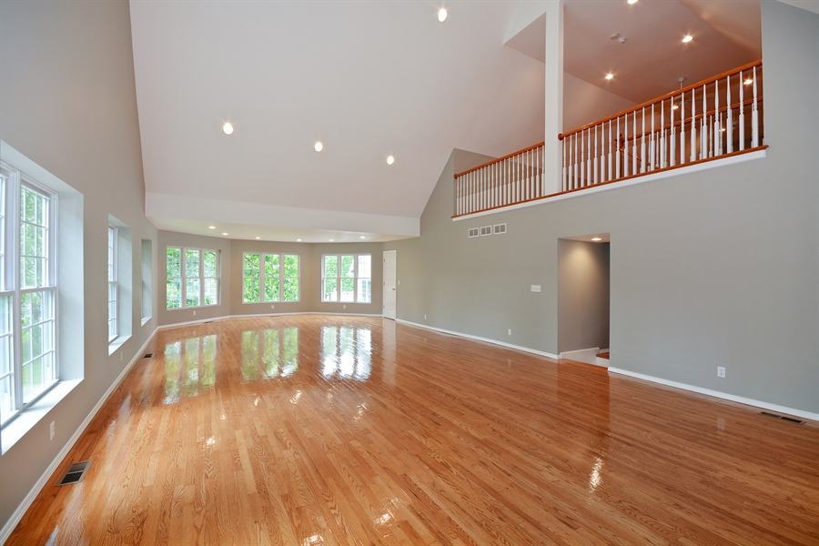 Real Estate Photography - 26W018 Bauer Rd, Naperville, IL, 60563 - Versatile 2nd floor gym space