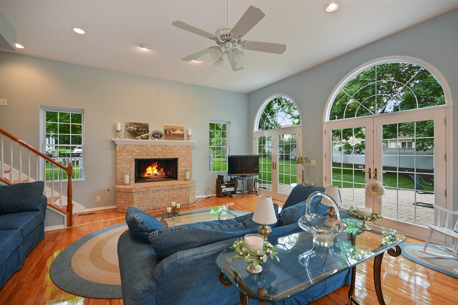 Real Estate Photography - 26W018 Bauer Rd, Naperville, IL, 60563 - Easy outside entertaining access