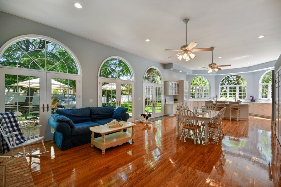 Real Estate Photography - 26W018 Bauer Rd, Naperville, IL, 60563 - Open floor plan w/great versatility