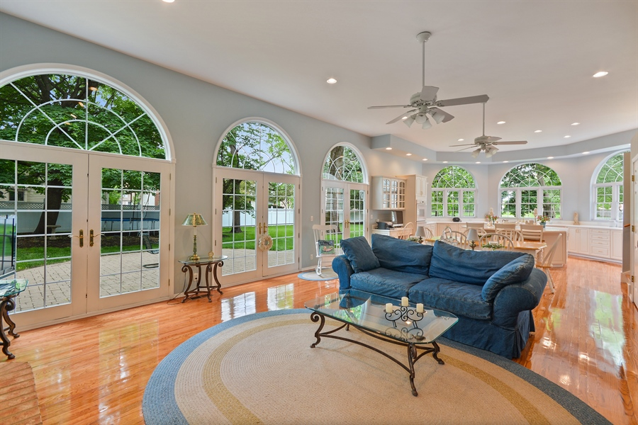 Real Estate Photography - 26W018 Bauer Rd, Naperville, IL, 60563 - Today's open floor plan appeal