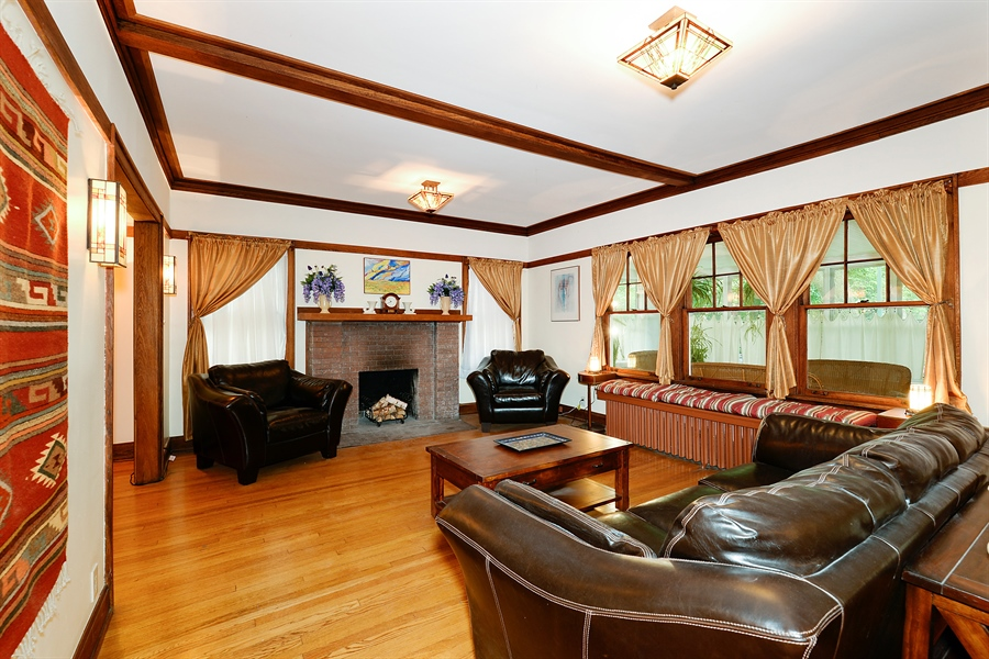 Real Estate Photography - 1444 West Birchwood Ave, Chicago, IL, 60626 - Living Room