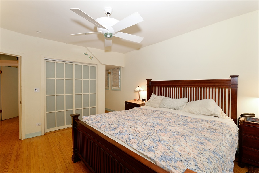Real Estate Photography - 1444 West Birchwood Ave, Chicago, IL, 60626 - Master Bedroom