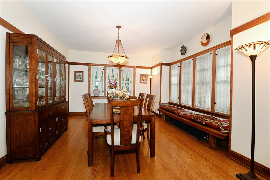 Real Estate Photography - 1444 West Birchwood Ave, Chicago, IL, 60626 - Dining Room