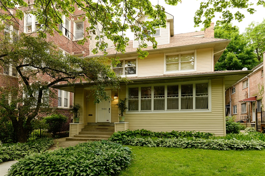 Real Estate Photography - 1444 West Birchwood Ave, Chicago, IL, 60626 - Front View