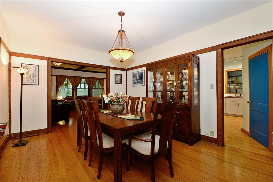 Real Estate Photography - 1444 West Birchwood Ave, Chicago, IL, 60626 - Living Room / Dining Room