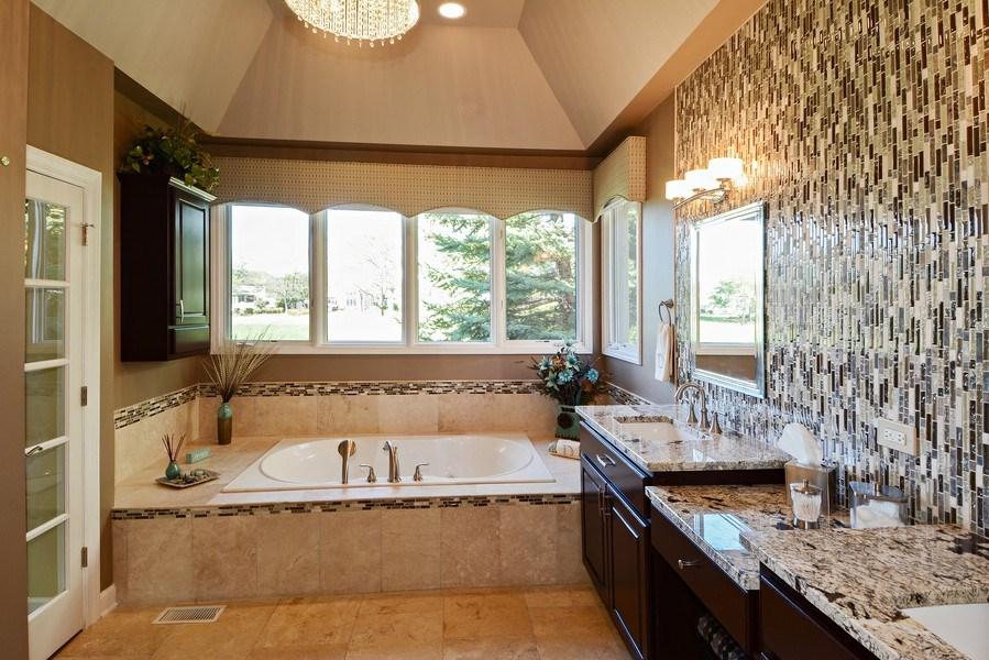 Real Estate Photography - 1126 Chadwick Ct, Aurora, IL, 60502 - Master Bathroom