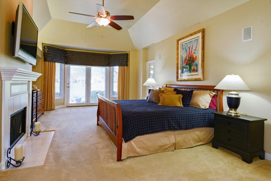 Real Estate Photography - 1126 Chadwick Ct, Aurora, IL, 60502 - Master Bedroom