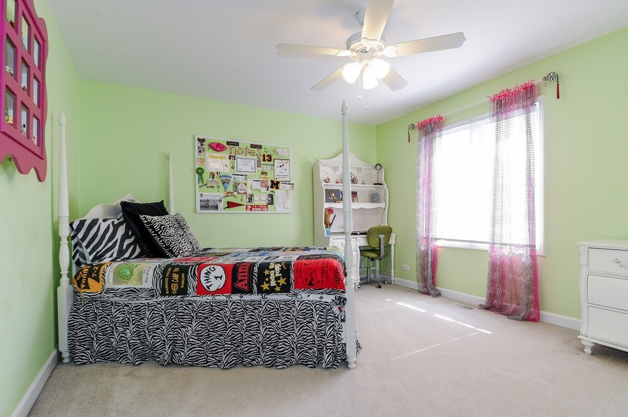 Real Estate Photography - 1126 Chadwick Ct, Aurora, IL, 60502 - 4th Bedroom