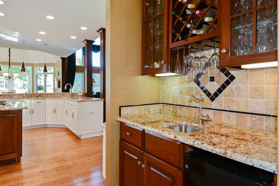Real Estate Photography - 1126 Chadwick Ct, Aurora, IL, 60502 - Butler's pantry