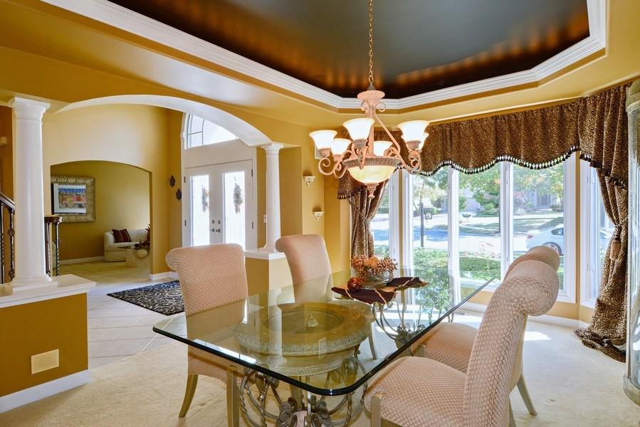 Real Estate Photography - 1126 Chadwick Ct, Aurora, IL, 60502 - Dining Room