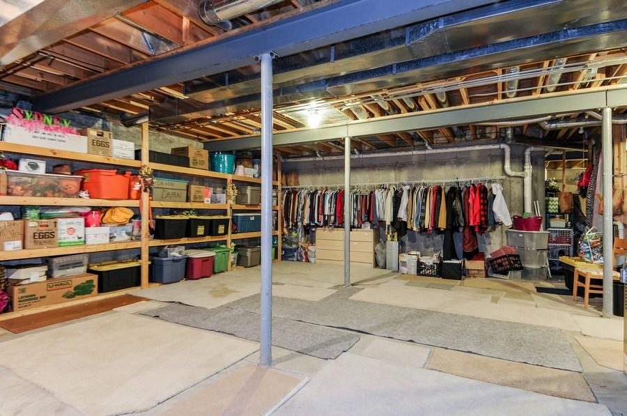 Real Estate Photography - 1126 Chadwick Ct, Aurora, IL, 60502 - Storage Area (basement)