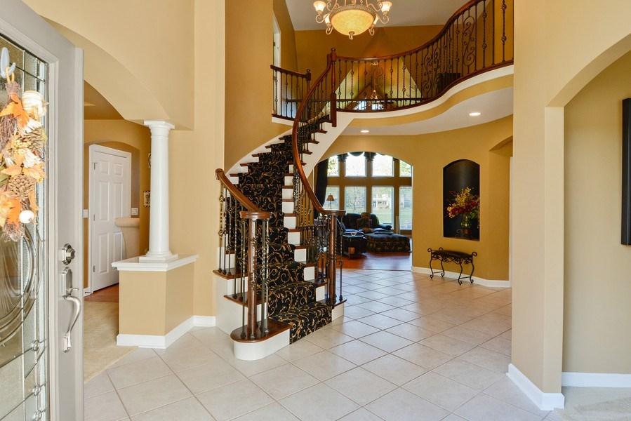 Real Estate Photography - 1126 Chadwick Ct, Aurora, IL, 60502 - Foyer