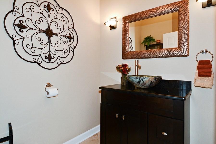 Real Estate Photography - 1126 Chadwick Ct, Aurora, IL, 60502 - Powder Room