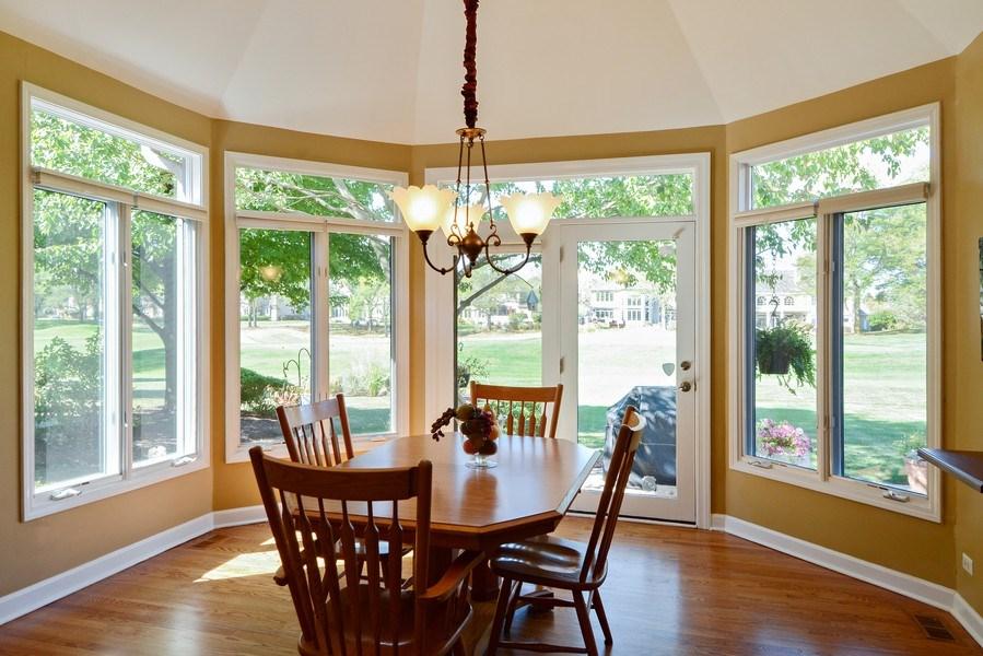 Real Estate Photography - 1126 Chadwick Ct, Aurora, IL, 60502 - Breakfast Nook