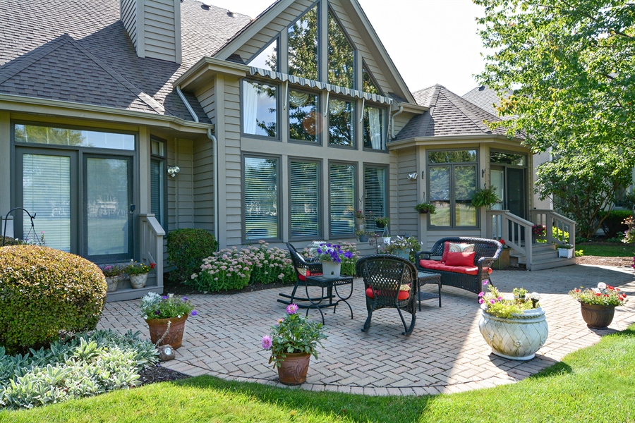 Real Estate Photography - 1126 Chadwick Ct, Aurora, IL, 60502 - Patio