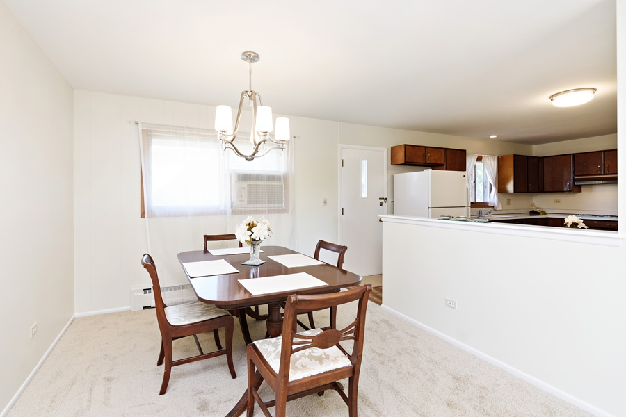 Real Estate Photography - 3504 Plum Grove Dr, Rolling Meadows, IL, 60008 - Kitchen / Dining Room