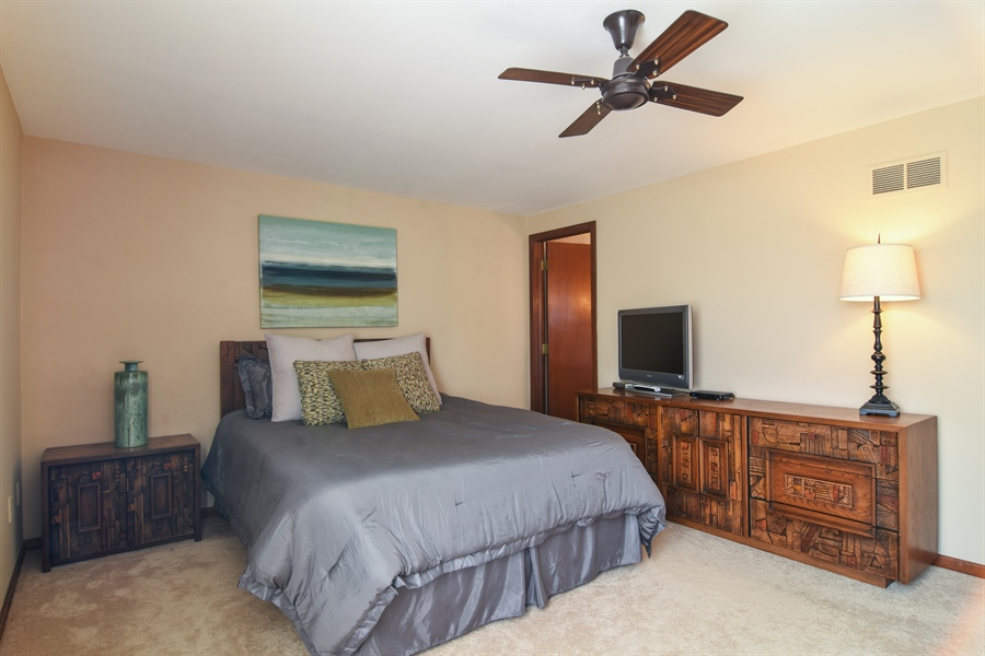 Real Estate Photography - 3241 N. Volz Drive, Arlington Heights, IL, 60004 - Master Bedroom