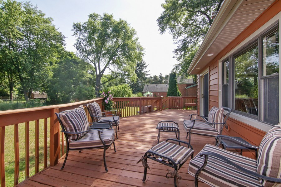 Real Estate Photography - 208 E. Marion Avenue, Prospect Heights, IL, 60070 - Deck