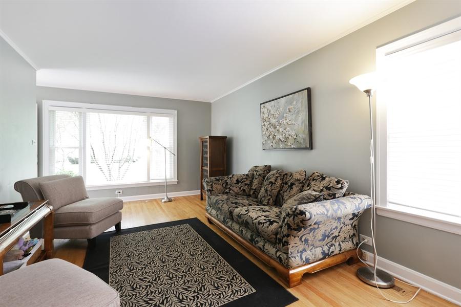 Real Estate Photography - 7166 N. Mankato Avenue, Chicago, IL, 60646 - Living Room
