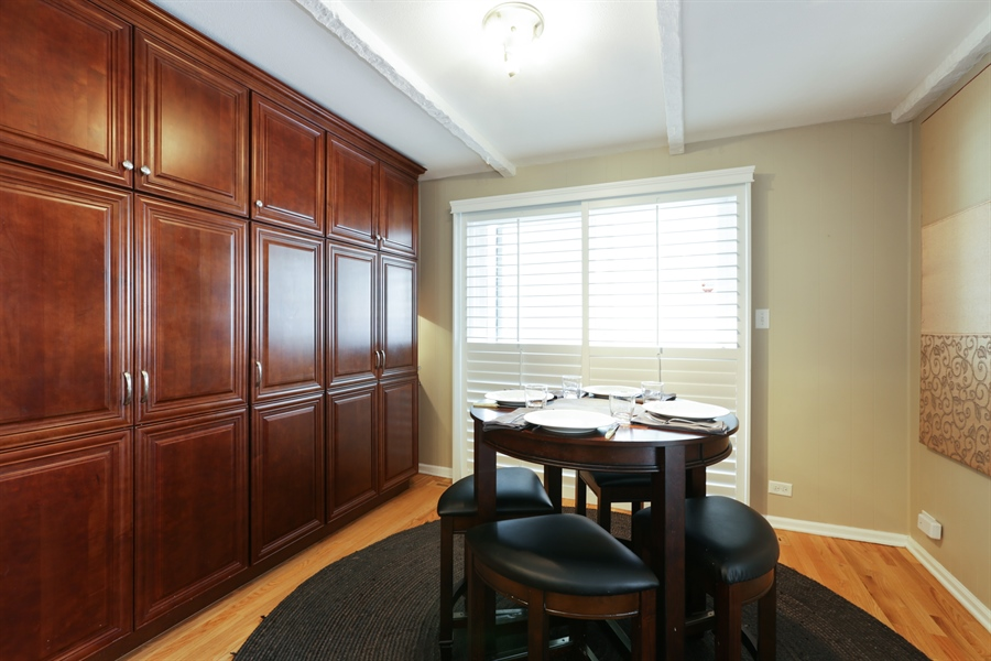 Real Estate Photography - 7166 N. Mankato Avenue, Chicago, IL, 60646 - Dining Room
