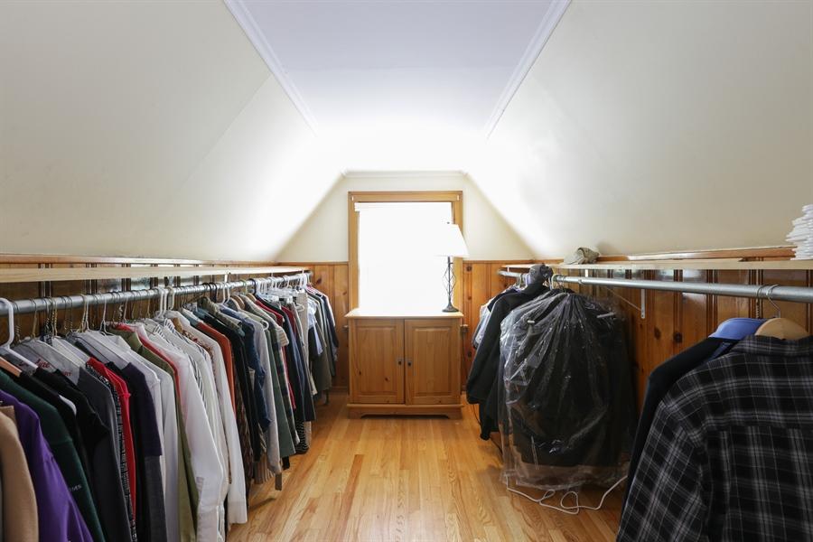 Real Estate Photography - 7166 N. Mankato Avenue, Chicago, IL, 60646 - Master Bedroom Closet