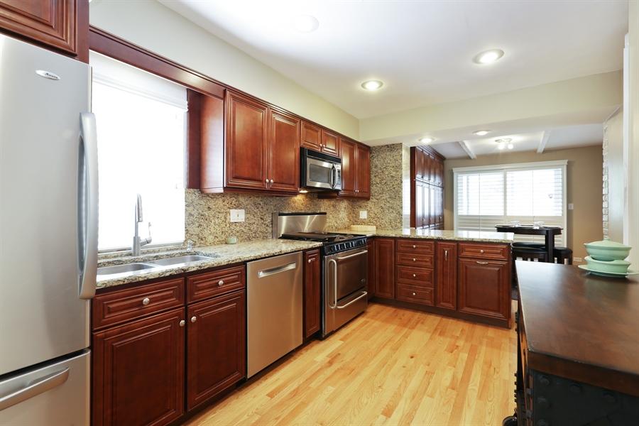 Real Estate Photography - 7166 N. Mankato Avenue, Chicago, IL, 60646 - Kitchen