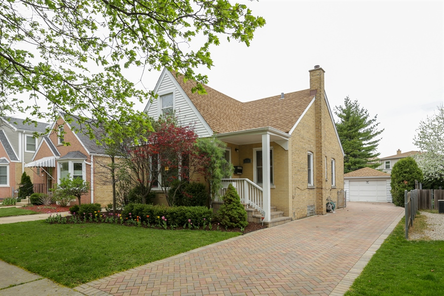 Real Estate Photography - 7166 N. Mankato Avenue, Chicago, IL, 60646 - Front View