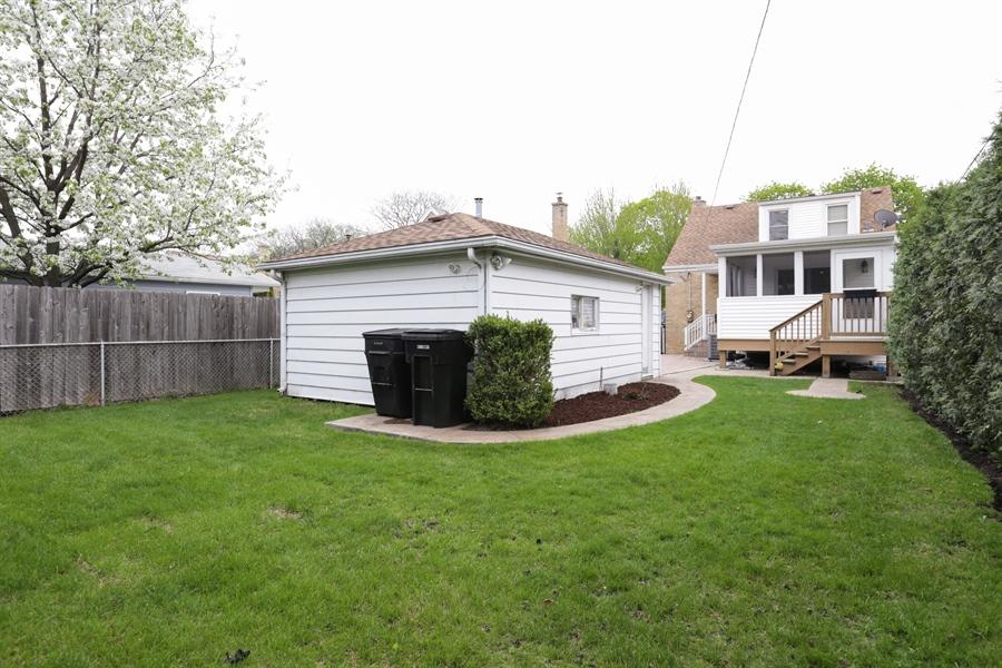 Real Estate Photography - 7166 N. Mankato Avenue, Chicago, IL, 60646 - Rear View