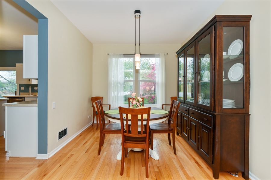 Real Estate Photography - 1042 Spinnaker St, Elgin, IL, 60123 - Dining Room