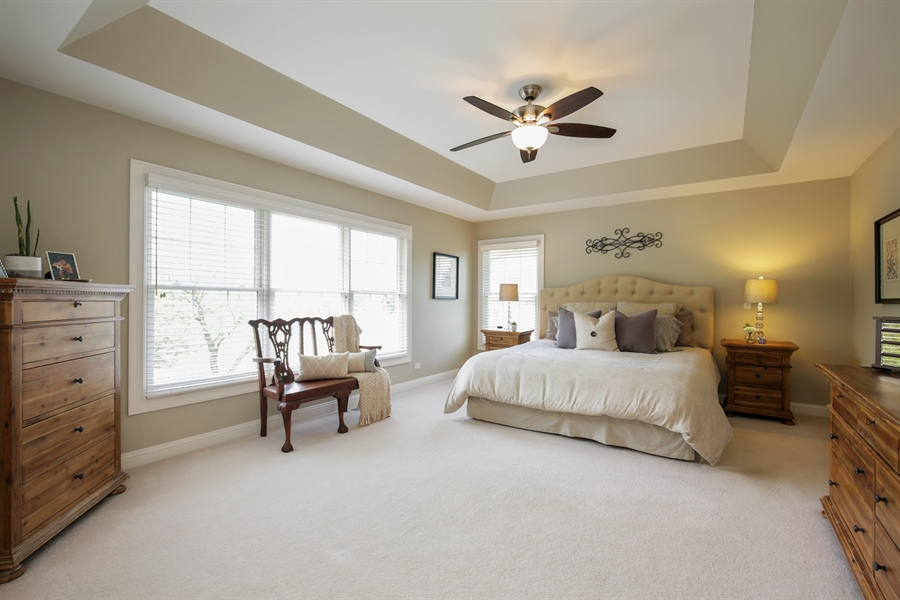 Real Estate Photography - 2811 Skyline Drive, Crystal Lake, IL, 60012 - Master Bedroom