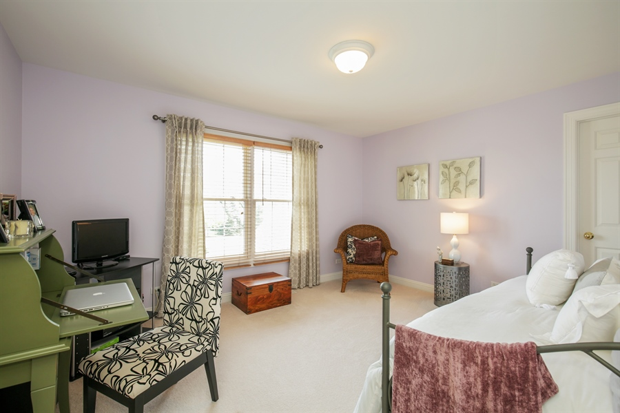 Real Estate Photography - 2811 Skyline Drive, Crystal Lake, IL, 60012 - 3rd Bedroom