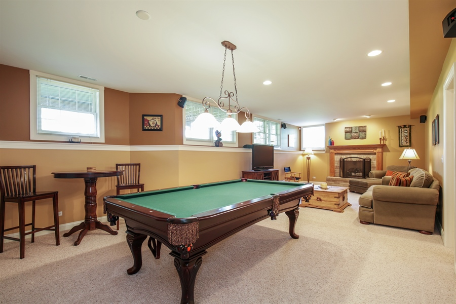 Real Estate Photography - 2811 Skyline Drive, Crystal Lake, IL, 60012 - Lower Level