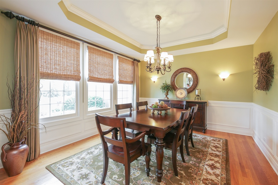 Real Estate Photography - 2811 Skyline Drive, Crystal Lake, IL, 60012 - Dining Room