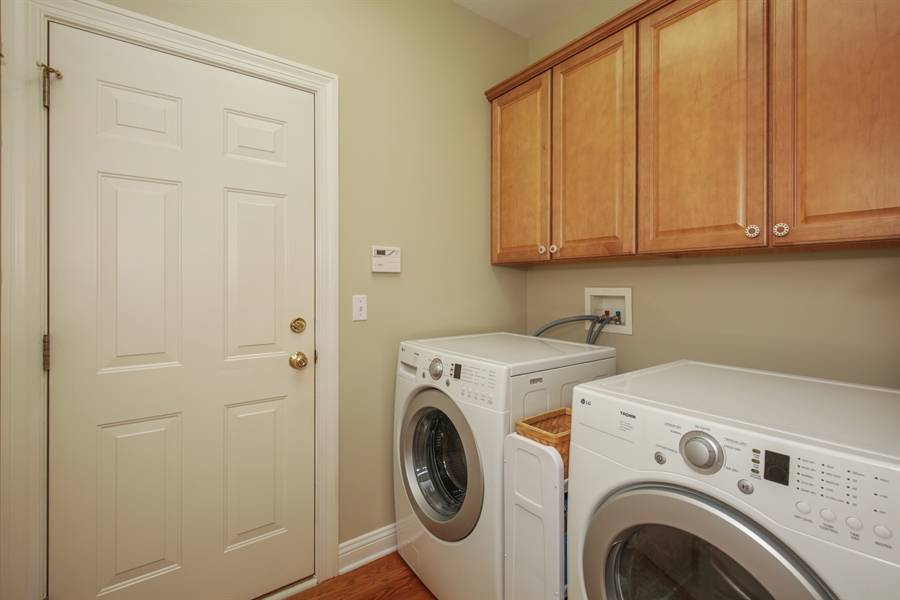 Real Estate Photography - 2811 Skyline Drive, Crystal Lake, IL, 60012 - Laundry Room