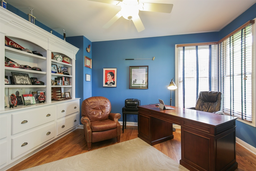 Real Estate Photography - 2811 Skyline Drive, Crystal Lake, IL, 60012 - Office