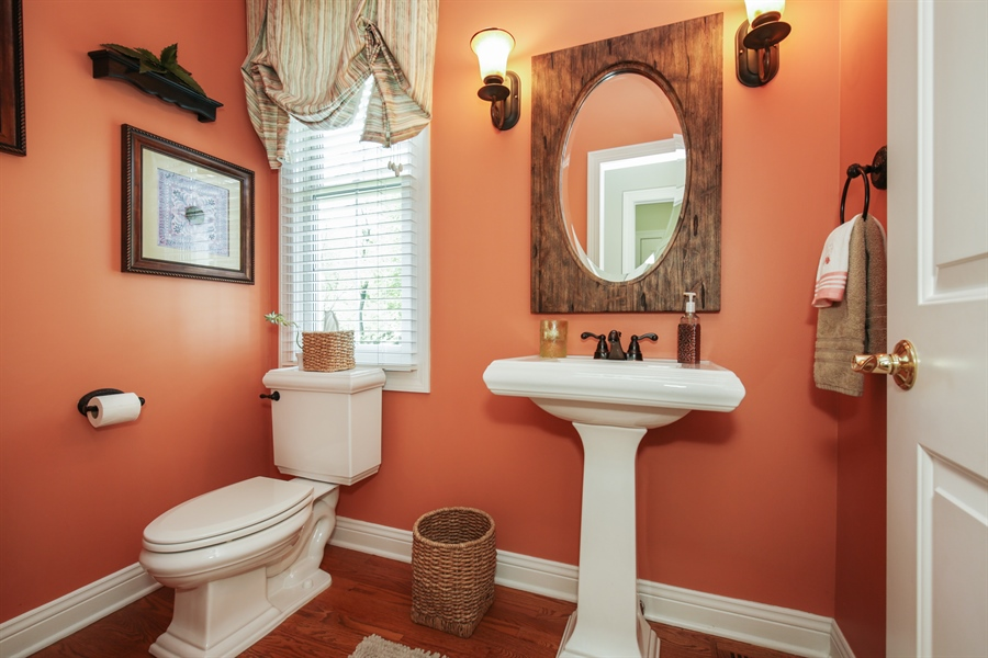 Real Estate Photography - 2811 Skyline Drive, Crystal Lake, IL, 60012 - Half Bath
