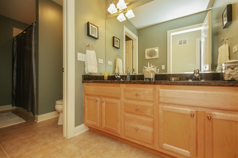 Real Estate Photography - 2811 Skyline Drive, Crystal Lake, IL, 60012 - Bathroom